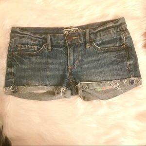 Roxy Jean Shorts